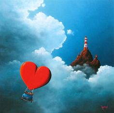 Love Illustrations by David Renshaw | it COLOSSAL