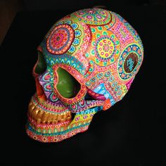 Skull mpgautheron by mpgautheron on Etsy