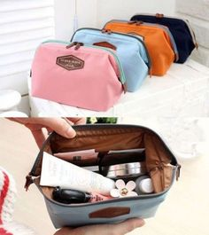 971370afc5d7ce Beauty Travel Cosmetic Bag Women Multifunction Makeup Pouch Toiletry Case  Large Makeup Bag, Large Cosmetic