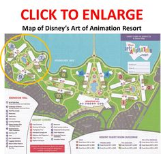 BEST AND WORST PLACES TO STAY IN THE LITTLE MERMAID AREA OF ART OF ANIMATION