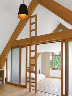 Slideshow: Eco-Friendly A-Frame in the French Countryside | Dwell