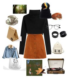 """""""act your age and try another year"""" by paigealexandrialee on Polyvore featuring Valentino, Coalport, Crosley, Trademark Fine Art, Luckies, Ray-Ban, NOVICA and Eugenia Kim"""
