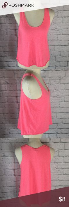 PINK Victoria's Secret Crop Tank Top *check my closet to see if you're interested in any other items to bundle*   Pink crop top tank great for working out or running errands no stains or holes size Extra Small PINK Victoria's Secret Tops Tank Tops