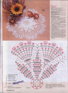 Delicadezas en crochet Gabriela: 10 Patrones de servilletas en ganchillo                                                                                                                                                     Más