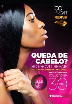 BC Provit Repair - Tratamento concentrado para queda de cabelo.  Eficácia comprovada | Solução em 30 dias