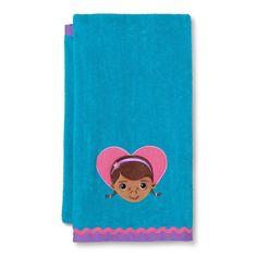 Disney Doctor Mcstuffins Bath Towel, Turquoise