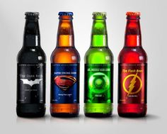 Drunk for Justice: Justice League Beers