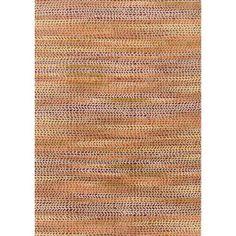 Phaedra Abstract Orange/ Sunset Rug (5'0 x 7'6) - 18813859 - Overstock.com Shopping - Great Deals on Alexander Home Seasonal Decor