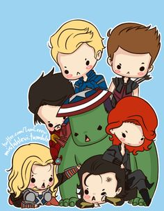 The Avengers triumph again! Loki's totally telling his mom that they're a bunch of meanies.