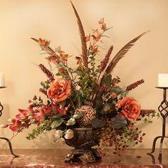 silk flower arrangements for home | Designer Silk Floral Arrangement AR233-120 : Floral Home Decor, silk ...
