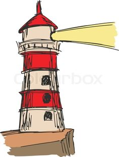 Hand drawn, sketch, cartoon illustration of lighthouse | Vector | Colourbox on Colourbox https://www.colourbox.com/vector/lighthouse-vector-8598564