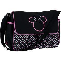 Disney Minnie Mouse Diaper Bag, Multi-Dots: Baby Gear : Walmart.com