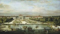 Bernardo Bellotto and Workshop, 'Nymphenburg Palace,' Munich, c. 1761, National Gallery of Art, Washington D.C.