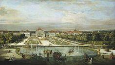 Bernardo Bellotto and Workshop, 'Nymphenburg Palace,' Munich, c. 1761, National Gallery of Art, Washington D.C.