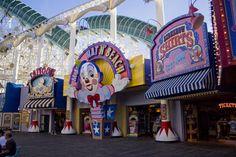 Disney. Disneyland. California Adventure. Paradise Pier