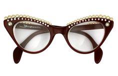 Schiaparelli - Lunettes 'Guirlandes de Perles' - Années 50