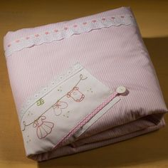 hand embroidered baby girl's blanket Ηappy clothes horses light rose and white nursery christmas gift, birth,godmother birthday baby shower Unique Baby Gifts, Baby Girl Gifts, New Baby Gifts, Nursery Christmas Gifts, Baby Sheets, Baby Towel, White Nursery, Grandmother Gifts, Baby Girl Blankets