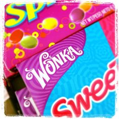 Wonka bright attractive sweets