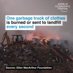 January World Economic Forum posted on LinkedIn Cancer, Ethical Fashion Brands, World Economic Forum, Garbage Truck, Public Profile, Sustainable Clothing, Sustainable Fashion, Tomorrow Will Be Better, Read More