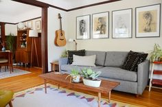 """A """"Homebody's Haven"""" Vintage Craftsman Home — House Tour   Apartment Therapy Main   Bloglovin'"""