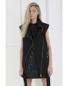 Cameo 'Nine Lives' dress in black