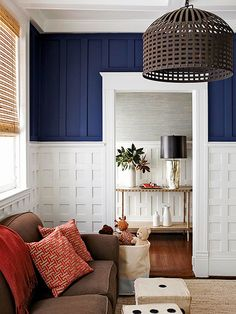 Design Ideas for Textured Walls - Make a statement in any room by adding real or perceived texture to one or more walls. - By Tim Laehn Distinctive Molding
