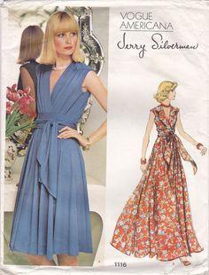 1970s Vogue Americana 1116 Jerry Silverman by SewAsItWasPatterns
