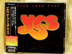 CD/Japan- YES Open Your Eyes +1 bonus trk w/OBI RARE ORIGINAL 1997 VICP-60215 #PopRock