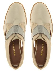 Whistles Simone Flat Brogue Shoes - really want to treat myself to these.