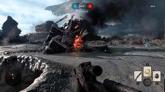 StarWars Battlefront Beta 10 Minutes Multiplayer Gameplay
