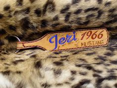 Key chain by Across Leather, via Flickr