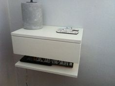 Floating bedside table by KingsleyFurniture on Etsy