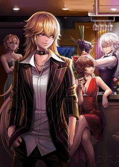 Alice Margatroid,Kirisame Marisa,Hakurei Reimu and Izayoi Sakuya~Touhou by dantewontdie