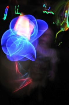 Light up the night glow-stick party games! (ring toss, dig for glowing treasures, hopscotch, glow in the dark volleyball, glow in the dark pool balloons, etc) #xmas_present #Black_Friday #Cyber_Monday
