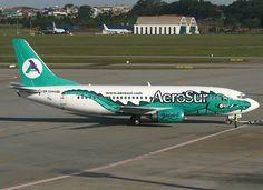 AeroSur Boeing B737-36N (Yacare)