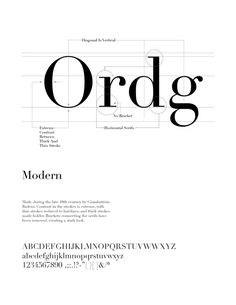 Type design information compiled and maintained by Luc Devroye. Modern Sans Serif Fonts, Modern Typography, Modern Fonts, Typography Letters, Lettering, Graphic Design Layouts, Layout Design, Letter Anatomy, Type Anatomy