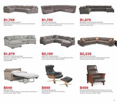 Macys Black Friday 2019 Ads and Deals Browse the Macys Black Friday 2019 ad scan and the complete product by product sales listing. Sectional Sofa With Recliner, Fabric Sectional, Reclining Sectional, Leather Sectional, Chair Fabric, Macys Black Friday, Black Friday 2019, Chair Bed, Chair And Ottoman