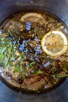 Časlevandule: Udělejte zníkrásné dekorace ilimonády - Proženy Palak Paneer, Ethnic Recipes, Food, Eten, Meals, Diet
