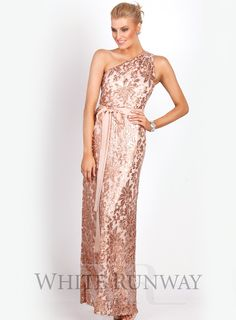 Lira Draped Dress . A gorgeous full length dress by Mr K. Features ...