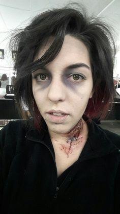 Maquillatge túnel del terror