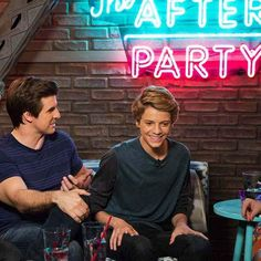 Cooper Barnes And Jace Norman On The Episode Of Henry Danger: #TheAfterParty Love Muffin Sunday At youtube.com/NickelodeonTV & Nick.com & The App