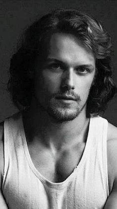 Up close....so beautiful. Sam Heughan appears perfect.