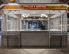 Bakery Interior, Interior Design, Refractory Brick, Construction Documents, Stella Artois, Old Building, Visual Communication, Design Development, Autocad