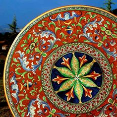 Antico Deruta Italian Volcanic Table - Custom designs, sizes available $1915+