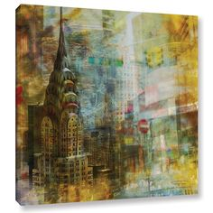 ArtWall Joost Hogervorst 'City Collage - New York 4' Gallery Wrapped Canvas