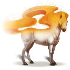 Notus, Winds horse