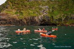 Kayaking, Ilheus da Alagoa, Flores Island, Azores, Portugal