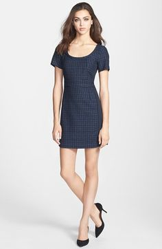 MARC BY MARC JACOBS 'Cacey' Tweed Sheath Dress available at #Nordstrom