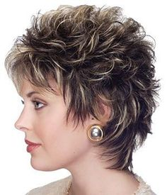 Short Shag Hairstyles for Women Over 50 Back Veiws Short Spiky Hairstyles, Short Choppy Hair, Short Shag Hairstyles, Short Layered Haircuts, Short Hair With Layers, Short Hair Cuts For Women, Short Hairstyles For Women, Cool Hairstyles, Pixie Haircuts