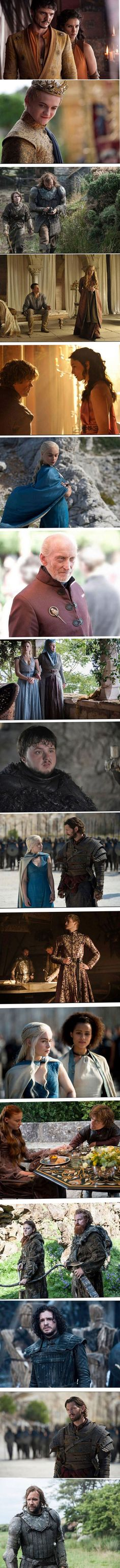 Games of Thrones Season 4 So, I don't watch this, but I want to work in the costuming department for it.